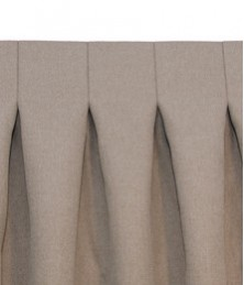 Reverse Pleat Curtain