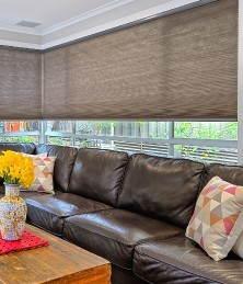 Premium Motorised Honeycomb Blind